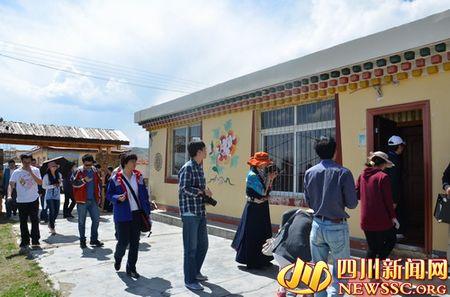 牧区诞生精品旅游村寨 全国网络媒体记者走进热坤
