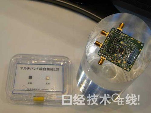 采用新技术的基带LSI试制品及评测板卡试制品 (点击放大)