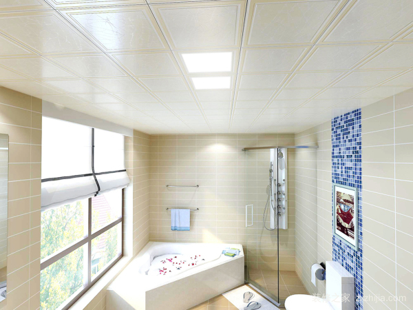 卫生间吊顶具有哪些好处?卫生间吊顶效果图