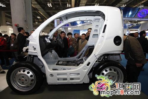 沃佩都市电动车一亮相,就受到市民追捧